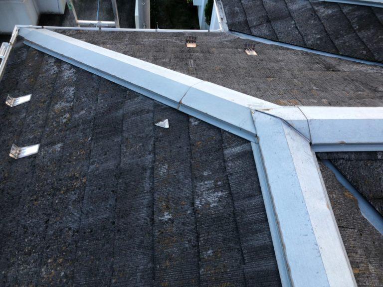 施工前屋根葺き替え工事、外壁塗装工事、雨樋交換工事【201】横浜市緑区