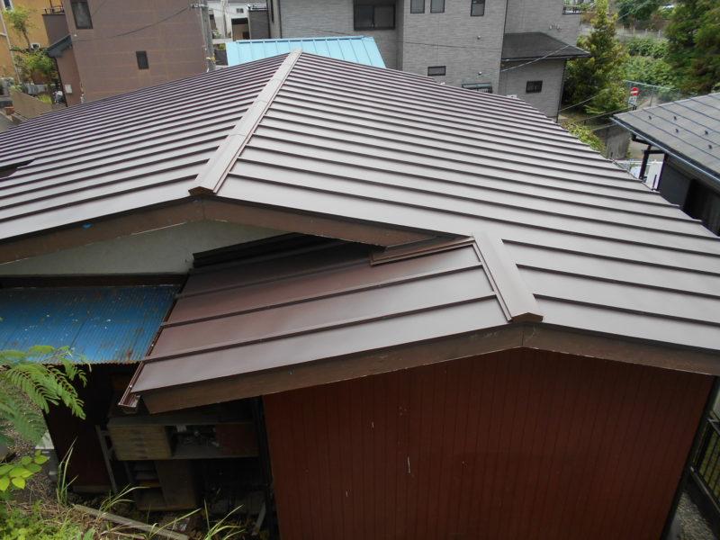 屋根葺き替え工事【215】相模原市