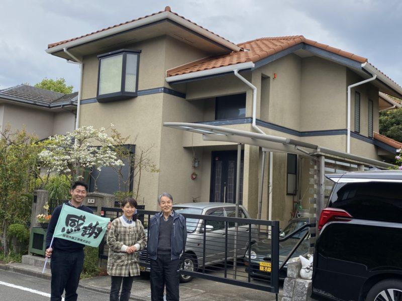 屋根重ね葺き工事、雨樋交換工事【199】東京都八王子市