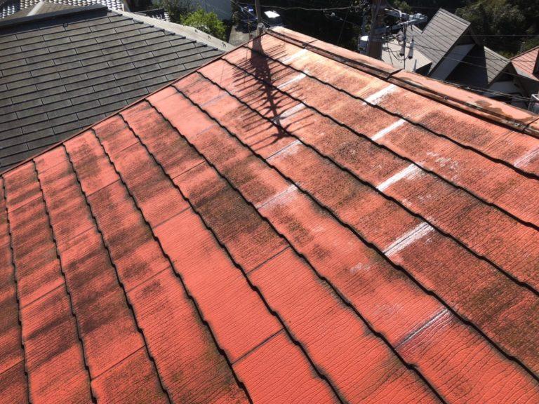 施工前屋根重ね葺き工事、一部葺き替え工事【200】横須賀市