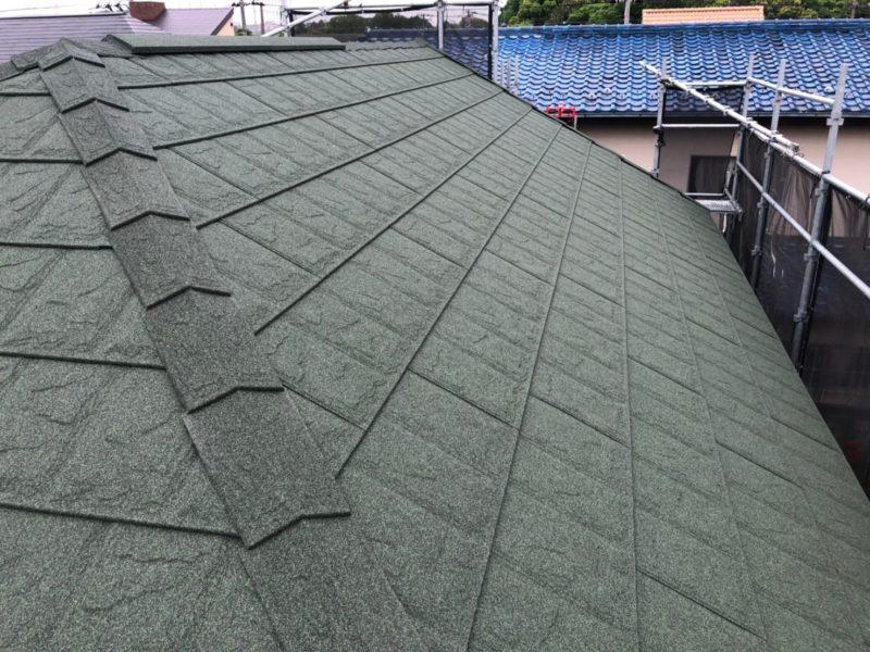 屋根重ね葺き工事、外壁塗装工事【214】川崎市麻生区