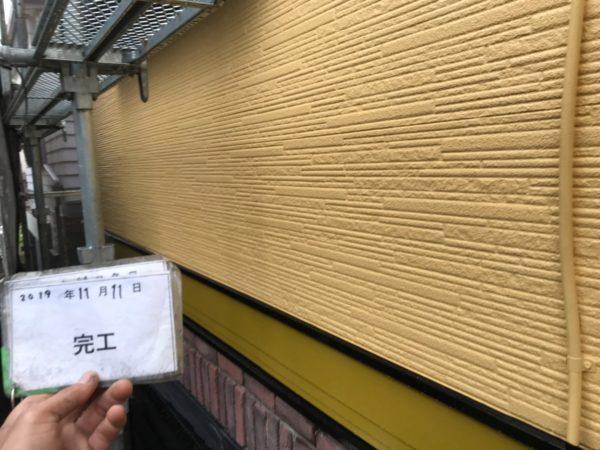 リフォーム施工中屋根重ね葺き工事、外壁塗装工事、雨樋交換工事【198】埼玉県和光市