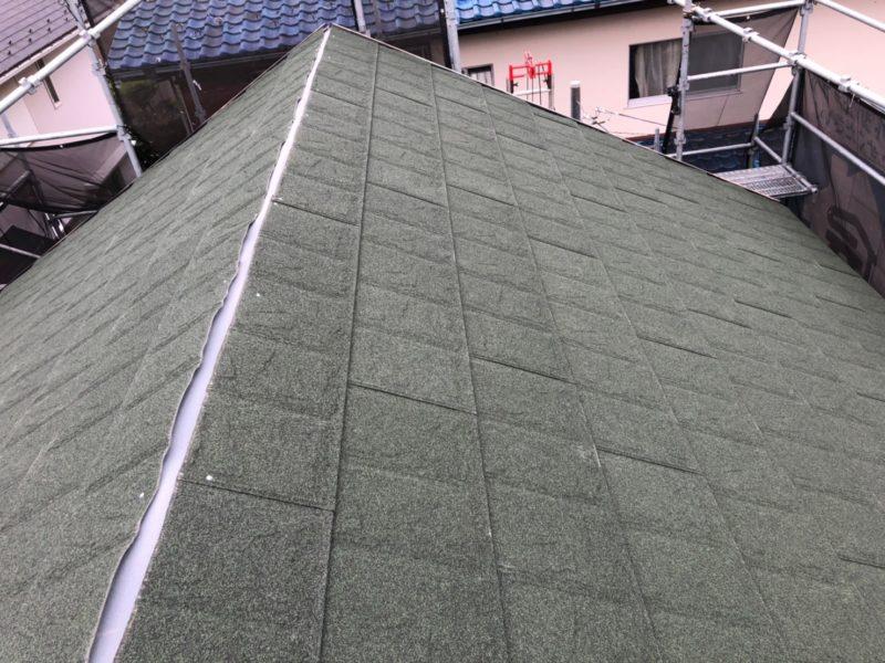 リフォーム施工中屋根重ね葺き工事、外壁塗装工事【214】川崎市麻生区