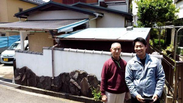 屋根重ね葺き工事、一部葺き替え工事【200】横須賀市