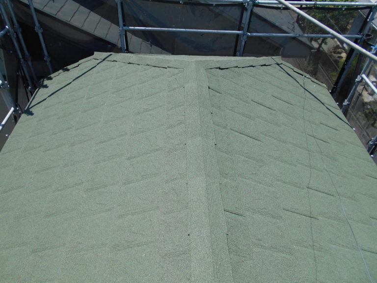 施工後屋根葺き替え工事、瓦棒葺き替え工事、庇重ね葺き工事【218】大和市
