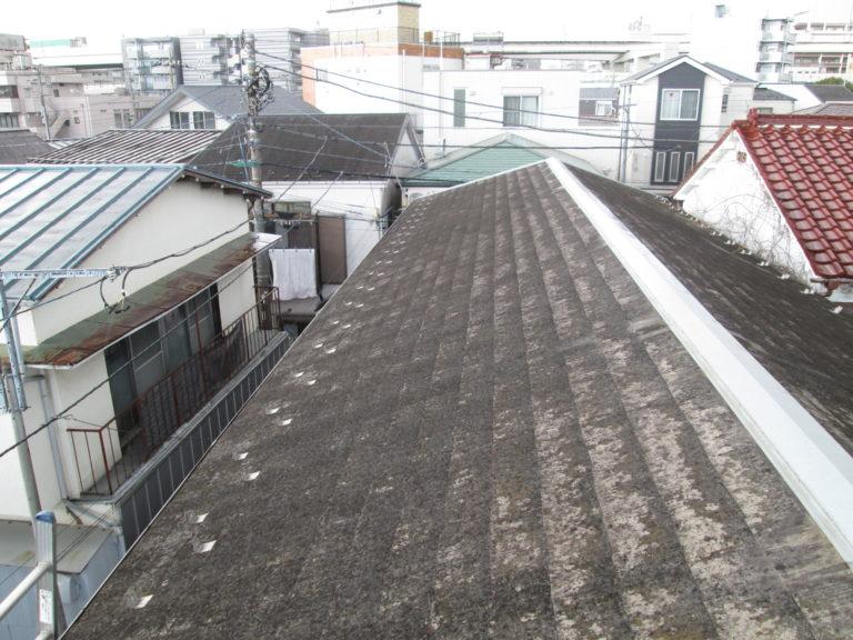 施工前屋根重ね葺き工事、外壁塗装工事、シーリング工事【216】横浜市南区