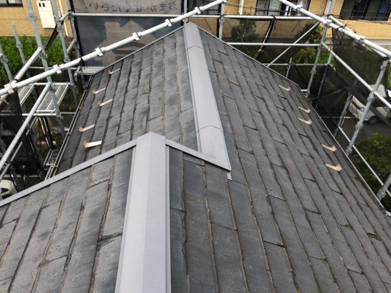 施工前屋根重ね葺き工事、外壁塗装工事【217】横浜市青葉区