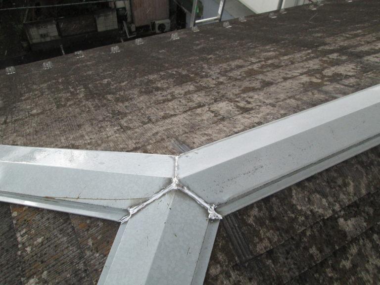 施工前屋根重ね葺き工事、外壁塗装工事、シーリング工事【222】横浜市南区