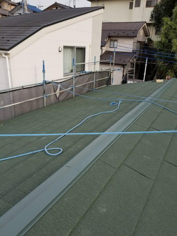 屋根重ね葺き工事、植栽伐採工事【228】