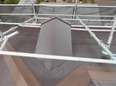 棟交換工事、屋根塗装工事、部分塗装工事【237】