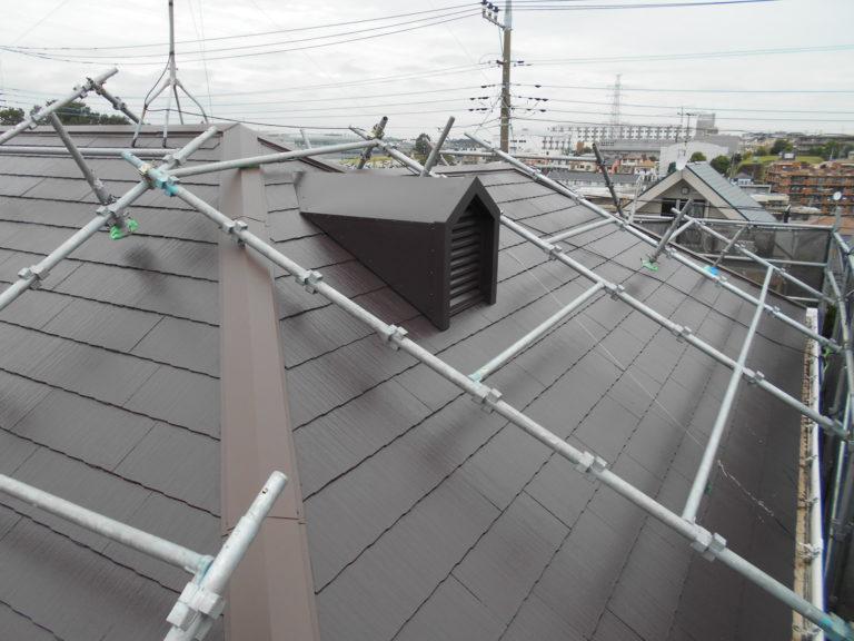 施工後棟交換工事、屋根塗装工事、部分塗装工事【237】