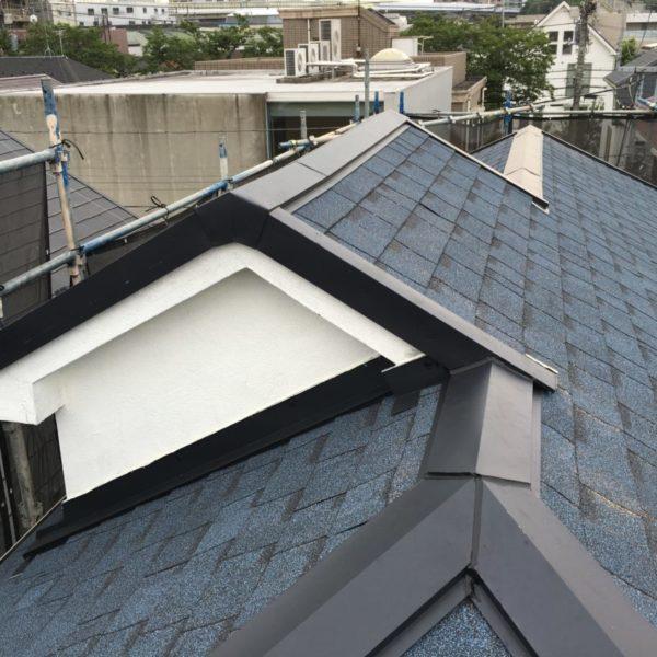施工後屋根重ね葺き工事【233】