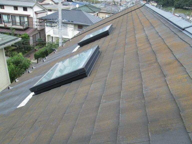 施工前屋根葺き替え工事・太陽光パネル脱着工事【230】