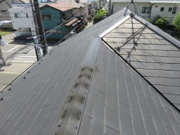 リフォーム施工中屋根重ね葺き工事【232】