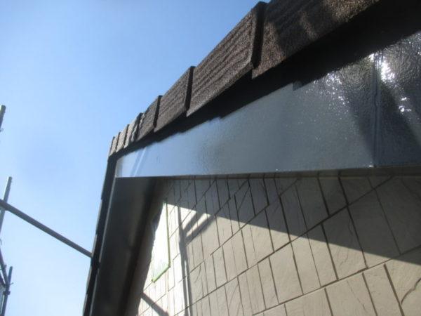リフォーム施工中屋根重ね葺き工事・外壁塗装工事・シール打ち工事・雨樋交換工事【235】