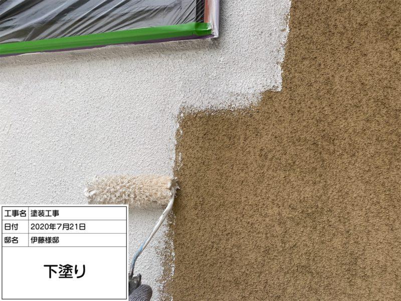 リフォーム施工中屋根重ね葺き工事、外壁塗装工事、雨樋交換工事【225】