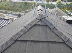 屋根重ね葺き工事、太陽光パネル脱着工事【241】