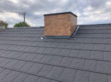 屋根重ね葺き工事、外壁塗装工事、雨樋交換工事【245】