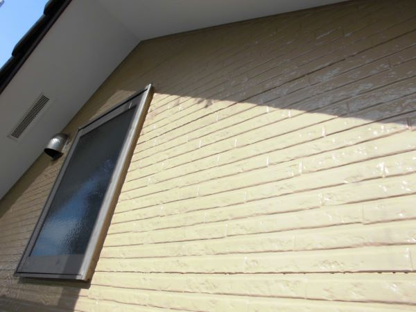 施工後外壁塗装工事、屋根補修工事、雨樋交換工事【243】