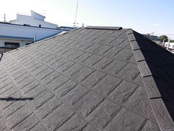 施工後屋根重ね葺き工事、部分塗装工事【242】