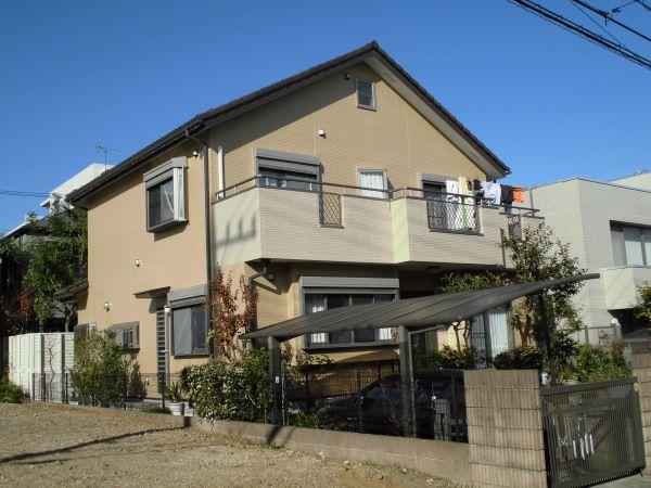 外壁塗装工事、屋根補修工事、雨樋交換工事【243】