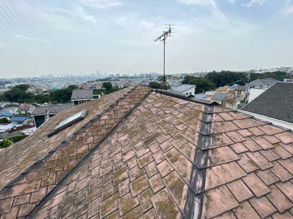施工前屋根重ね葺き、外壁塗装工事、内装工事【247】横浜市保土ヶ谷区