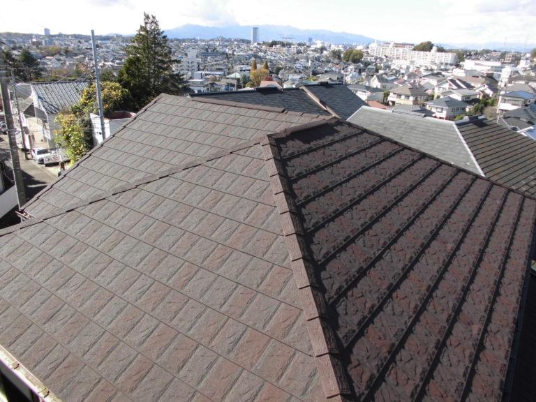施工後屋根重ね葺き工事【250】横浜市青葉区