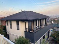 屋根重ね葺き、外壁塗装工事、内装工事【247】横浜市保土ヶ谷区