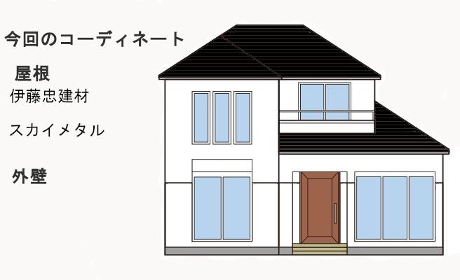 イラスト屋根重ね葺き工事、波板交換工事【254】東京都町田市