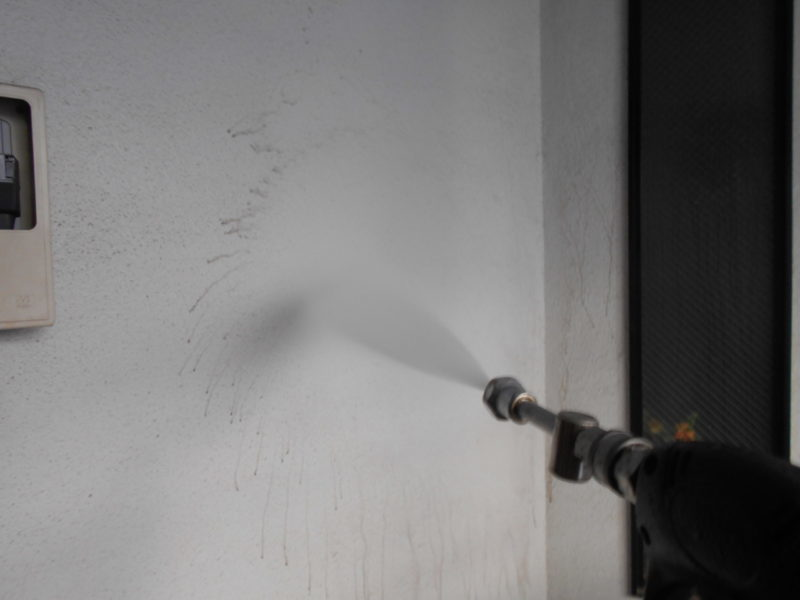 リフォーム施工中屋根塗装工事、外壁塗装工事、バルコニー防水工事【260】東京都目黒区