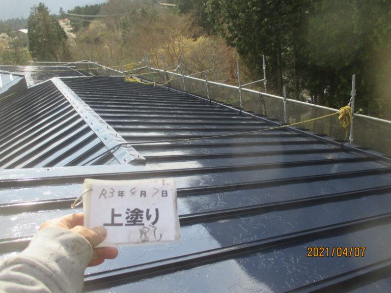 施工後屋根塗装工事、外壁塗装工事等 【265】足柄下郡箱根町