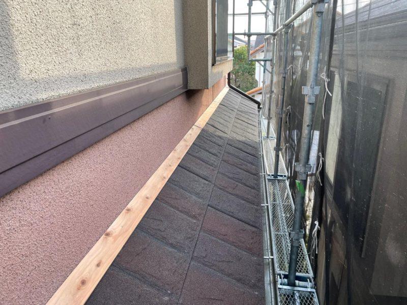 リフォーム施工中屋根重ね葺き工事 横浜市青葉区【259】