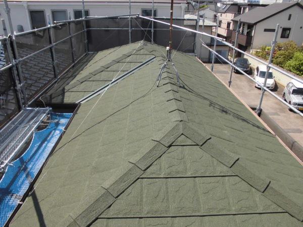屋根葺き替え工事【268】川崎市幸区