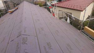 リフォーム施工中屋根重ね葺き工事,外壁塗装工事等【269】横浜市保土ヶ谷区
