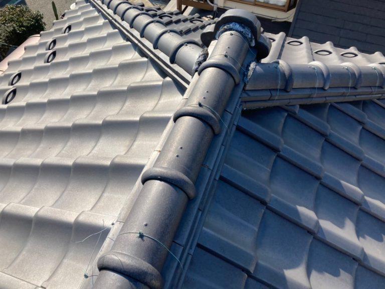 施工前外壁塗装工事、屋根葺き替え工事【281】横浜市都筑区
