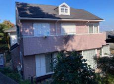 屋根重ね葺き工事、外壁塗装工事【279】横浜市磯子区