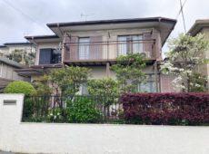 下屋根重ね葺き工事、外壁塗装工事【285】横浜市青葉区