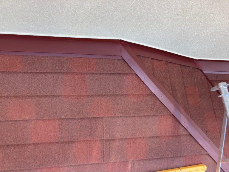 施工後下屋根重ね葺き工事、外壁塗装工事【285】横浜市青葉区