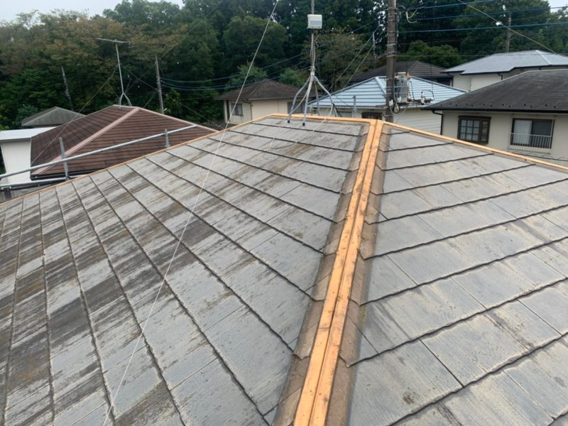 リフォーム施工中屋根重ね葺き工事【286】千葉県市原市