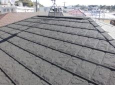 屋根重ね葺き工事、雨樋交換工事【292】横浜市港北区